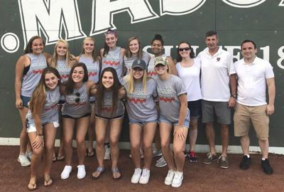 Believe in green! State champion Pentucket girls basketball honored at Fenway Park
