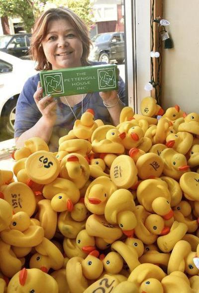 Rubber ducks to take another swim for charity