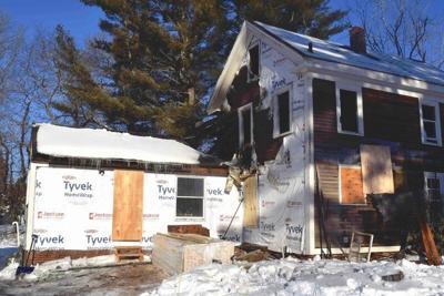 Firefighter suffers smoke inhalation at Salisbury house fire