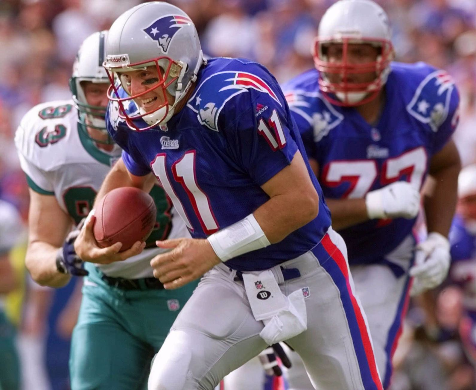 Two decades later, Patriots '90s throwback uniforms more popular ...