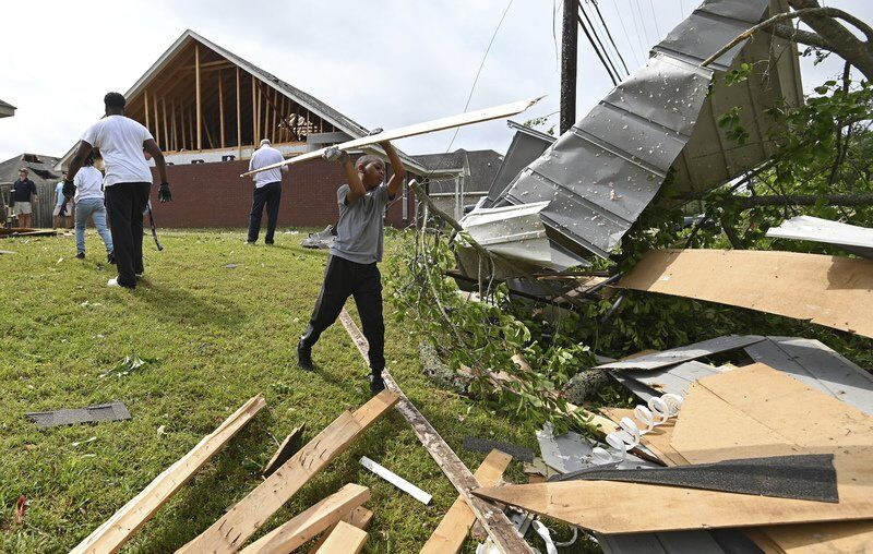 Storms spawn twisters, kill 3 across South