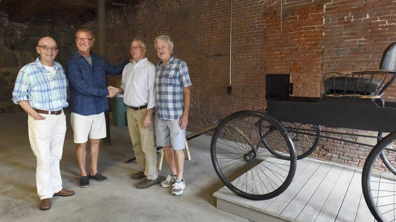 Healey donates $100,000 to Carriage Museum