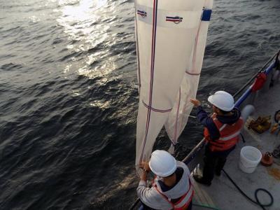 Tracking micro-plastics in the ocean with satellites