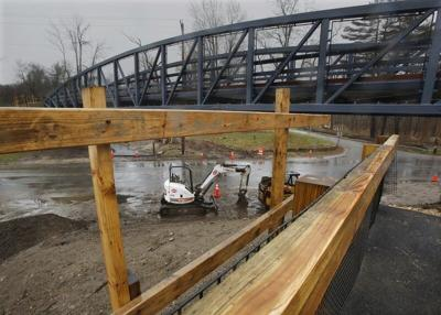 Salisbury rail trail bridge on schedule for July completion