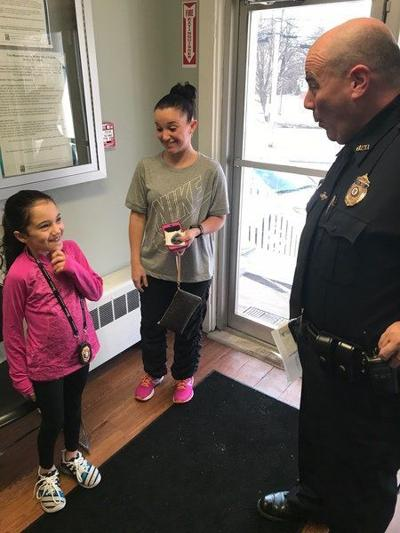 8-year-old aims to visit every Bay State police station