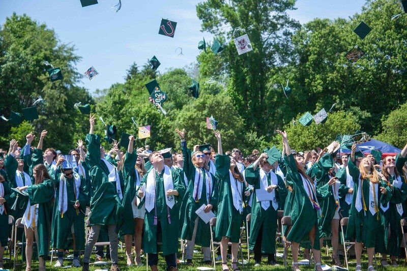 Resilience, togetherness mark Pentucket's graduation