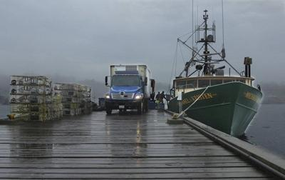 Lobstering: Monitors more likely on boats with state, federal permits