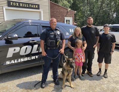 Salisbury's newest police K-9 team springs into action