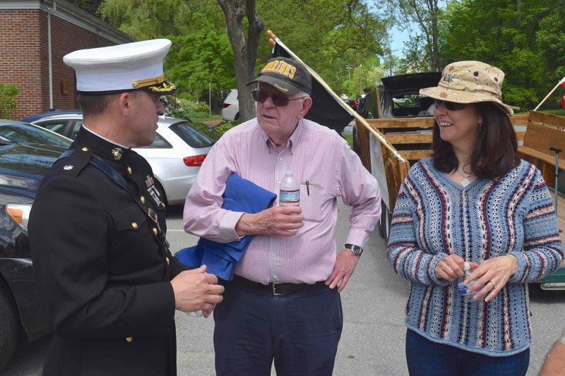 West Newbury marks Memorial Day, bicentennial year with parade