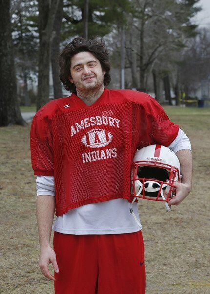 For Jarrid Schwindt, Amesbury football has been refuge on and off the field