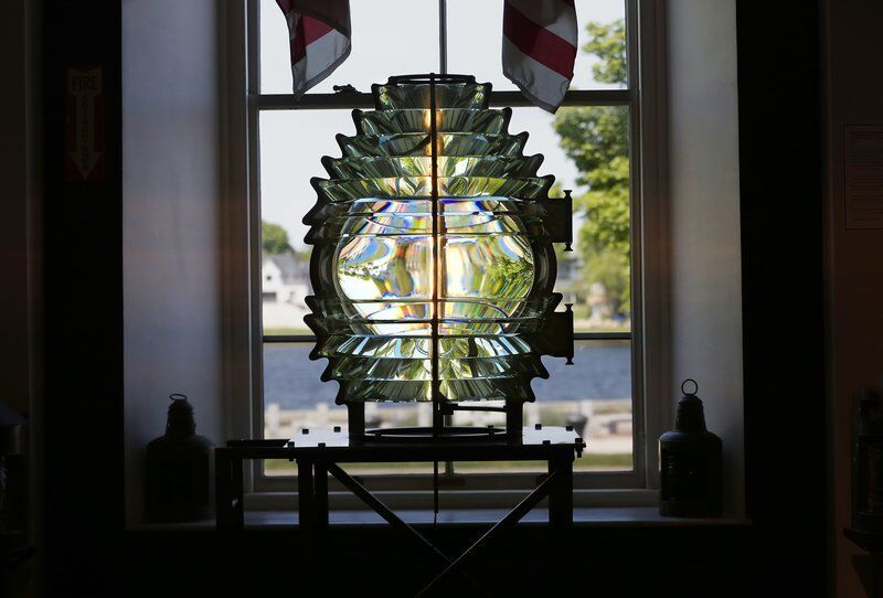 Lighthouse lens at Custom House returning to its RI home