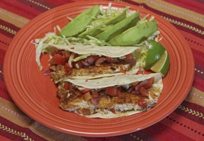 Fish tacos make simple, delicious dinner
