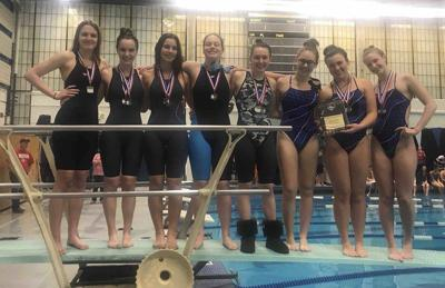 Sports in a Minute: Triton girls swimming wins second straight CAL Open title