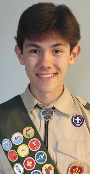 Wood achieves Eagle Scout rank in Georgetown