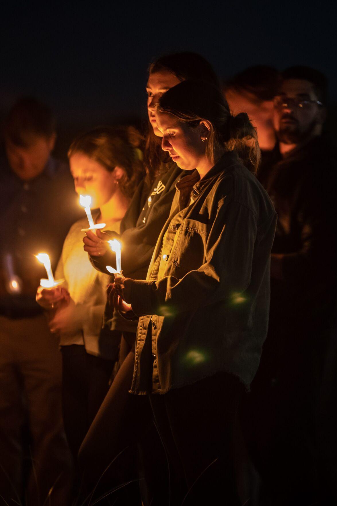 Vigil on Plum Island