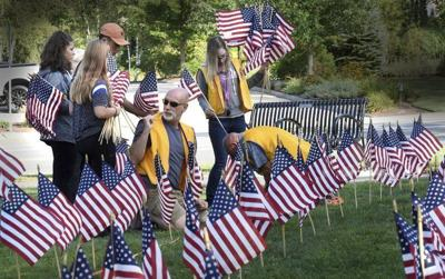 Salisbury students plant flags for victims of 9/11 | Local