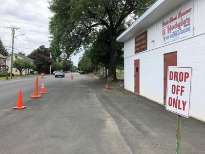 Safety zone aims to slow drivers on Merrimac St.