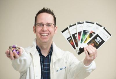 Professor speaks about chocolate Saturday