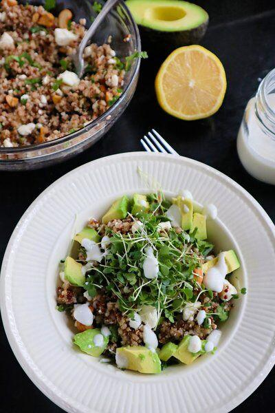 Mixed grain bowl is fullofhealthygoodness