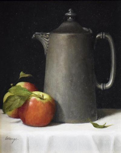 Oil by Dorothy Lorenze honored with Best of Show Award