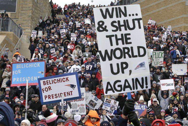 Patriots enjoy big Super Bowl experience edge over Eagles