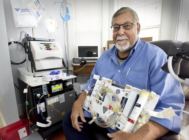 Newburyport man first in the area to perform home hemodialysis
