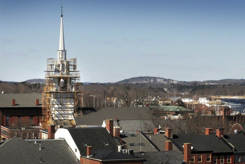 Unitarian Church steeple project finished, but not without more time and money