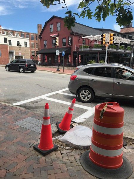 Newburyport stoplight repairs to be 'hopefully' done by end of July
