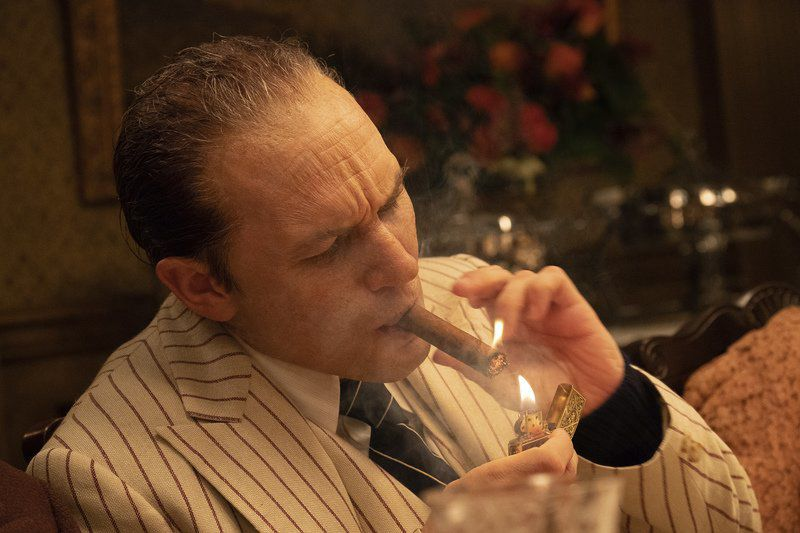 Movie review: A grotesque, inglorious look at Capone's last year