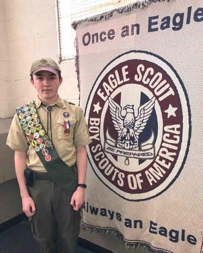 Marshall earns Eagle Scout Award