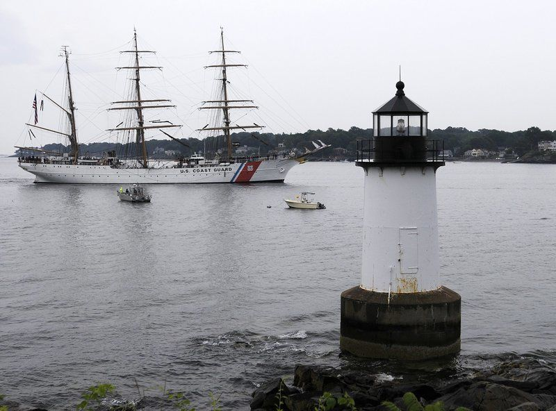Tall ship Eaglereturns to North Shore