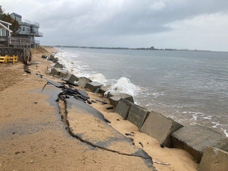 High tide threatens Plum Island water system
