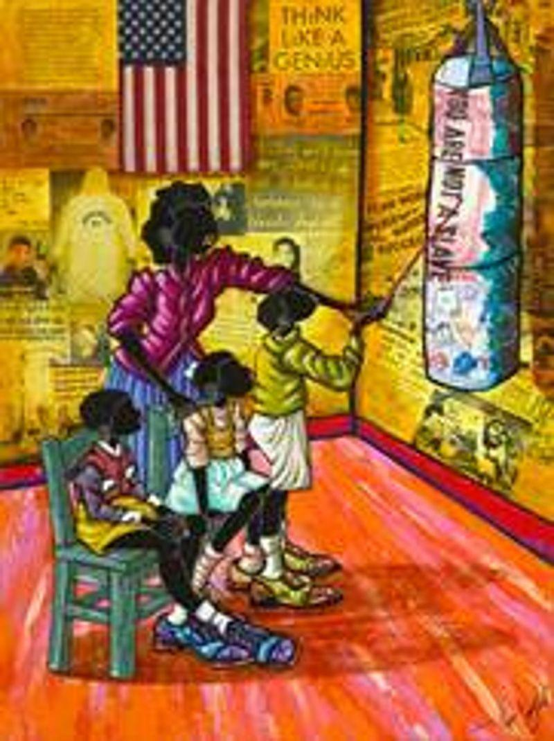African-American art featured at the Atrium