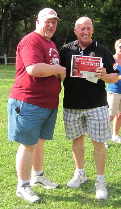 Camp Merry Heart gets Morristown Rotary Club donation