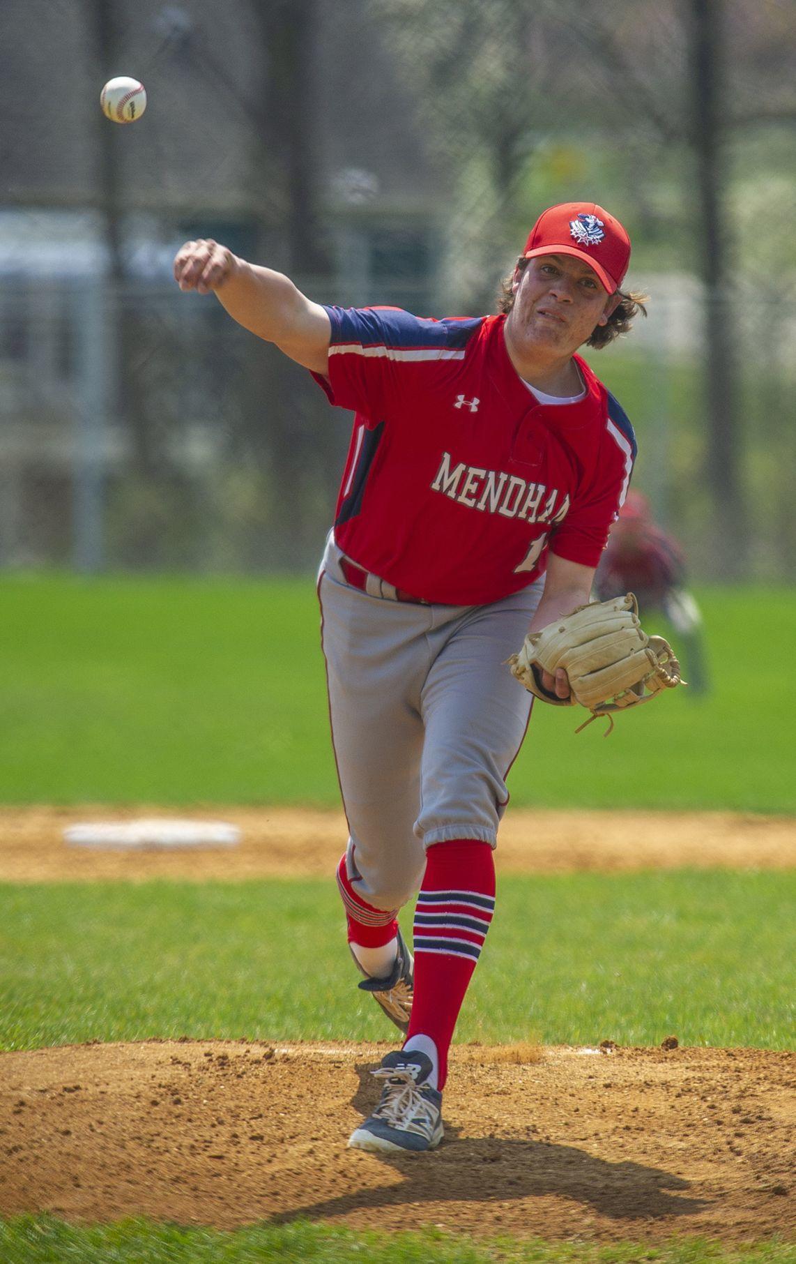 Mendham Logan Shortall baseball