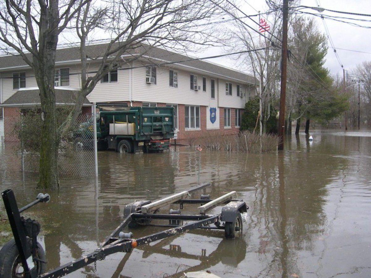 Long Hill Police flooding