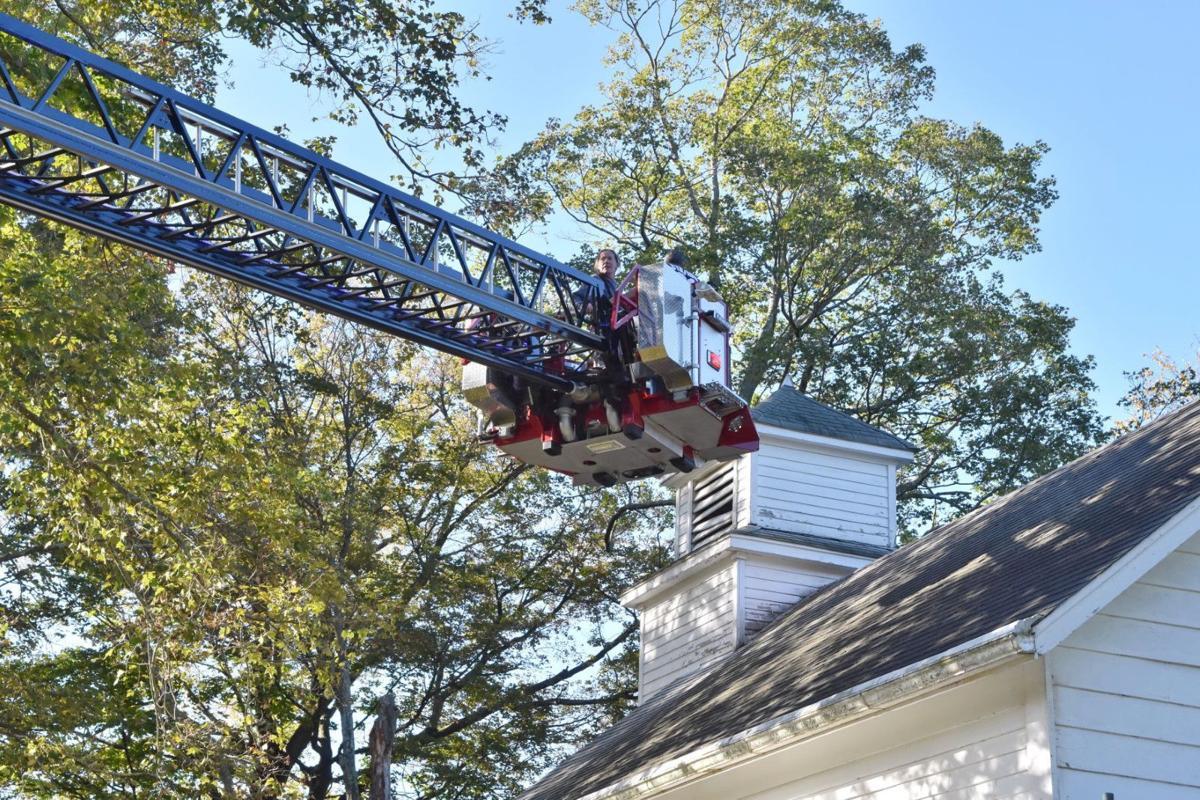 Weathervane returns atop historic Warren church after 67 years