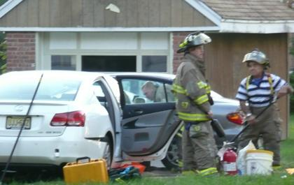 Driver is only injury in accident that closes street for 10 hours