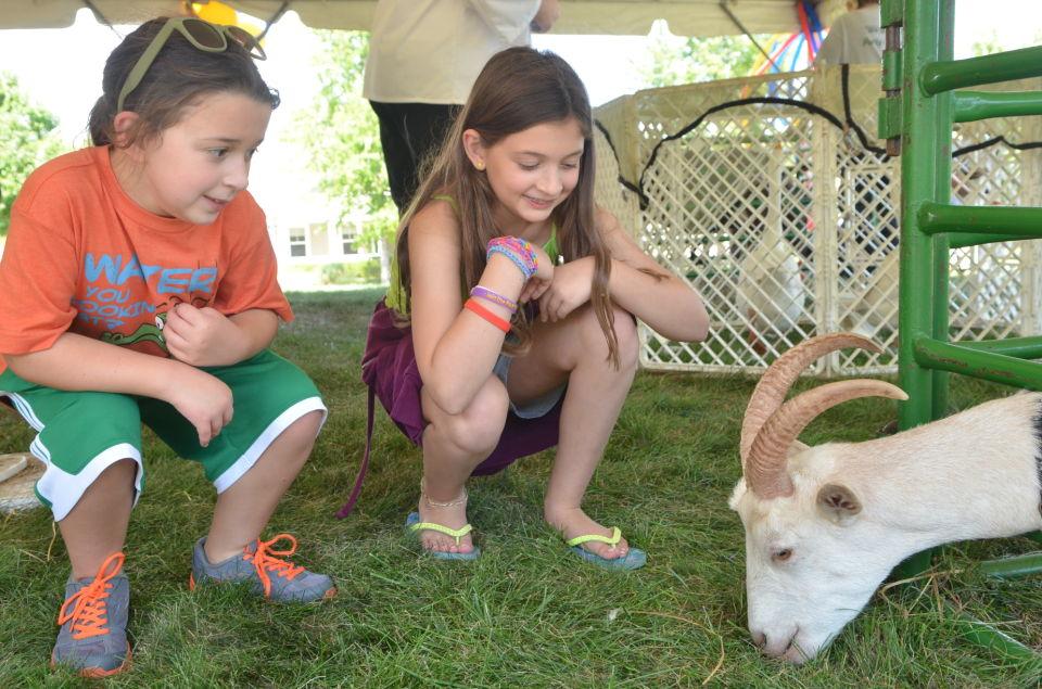 Fellowship Village 'Family Fun Day' goat