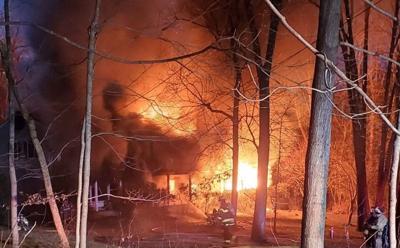 Liberty Corner Home Fire