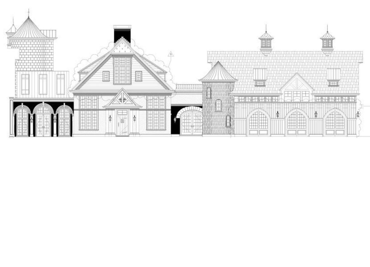 A Ryland Inn expansion concept drawing