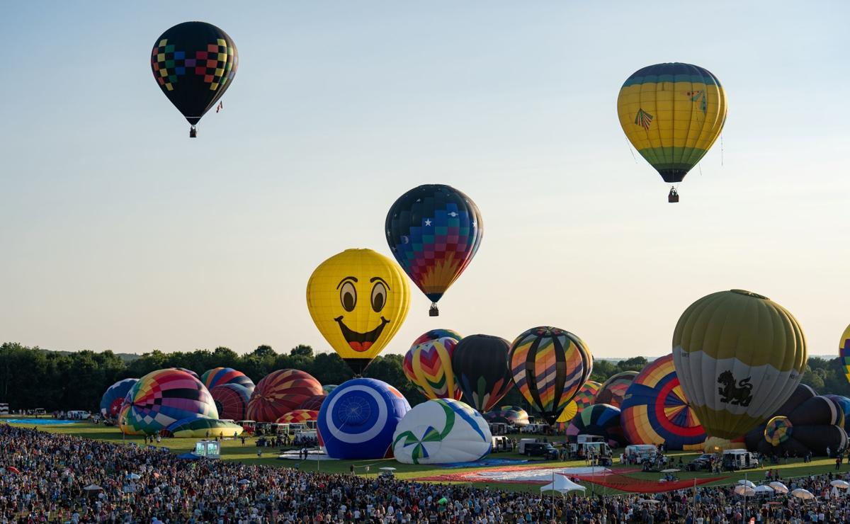 Balloon festival draws record crowds, $3 million in charitable donations