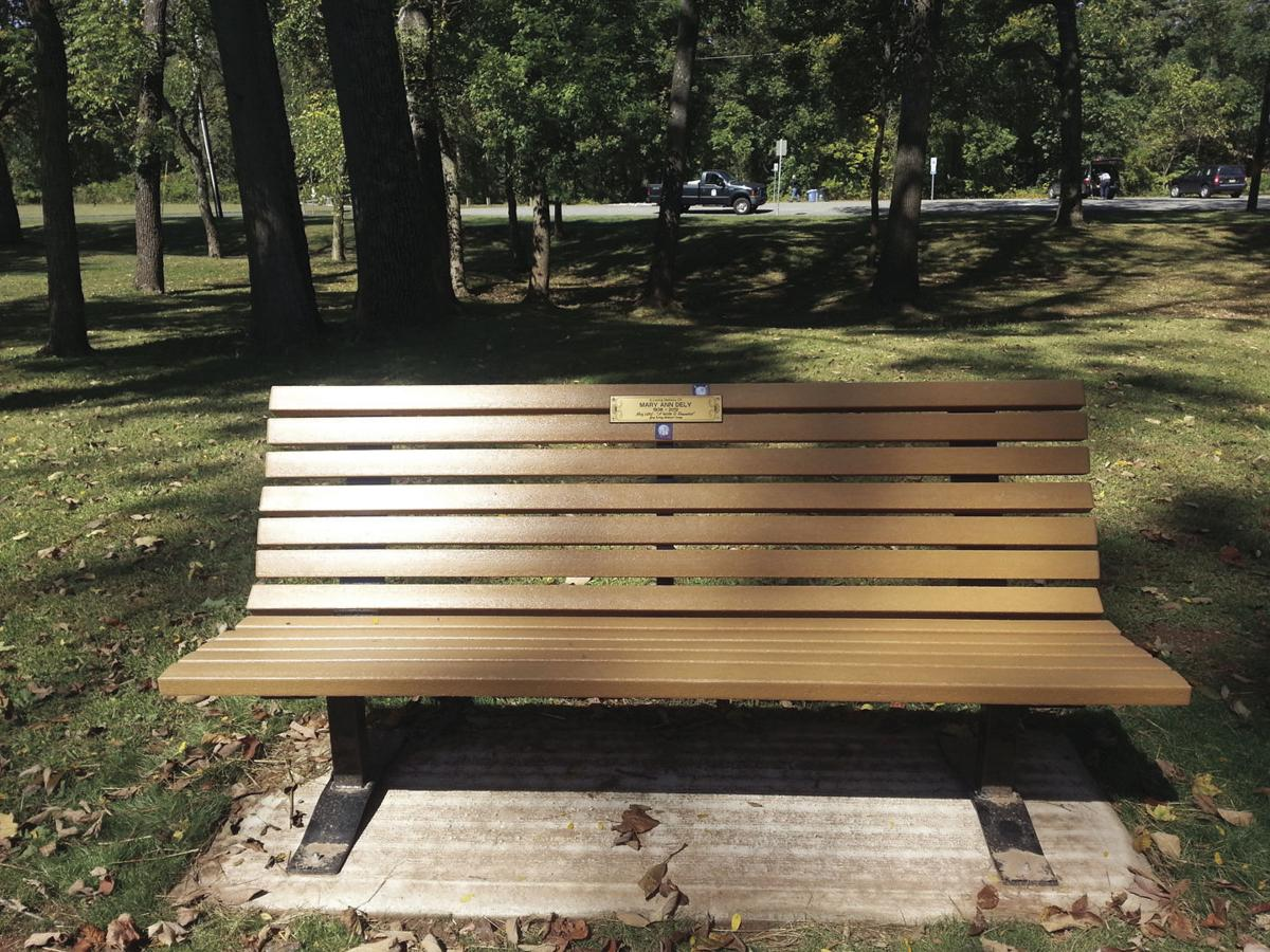 Commemorative benches, trees & bricks are available