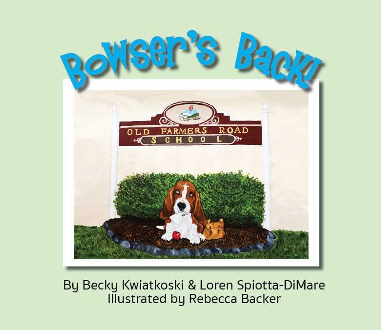 Tewksbury author tells story of local school mascot, Bowser the Basset Hound