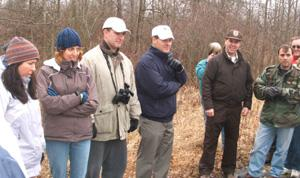 Legislative District 21 - Bramnick starts 'walk and talk' series in Great Swamp Refuge