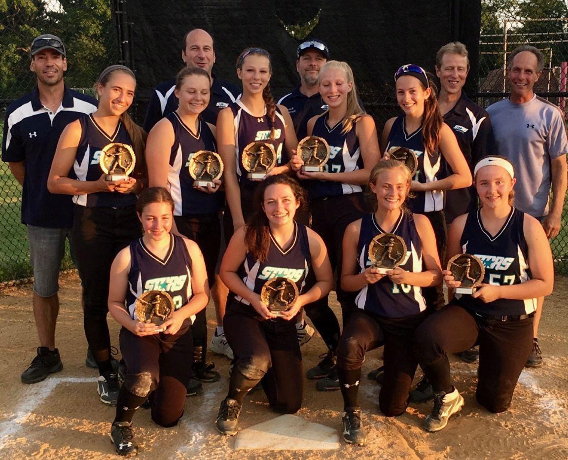 Voorhees Stars girls travel softball captures second straight ...