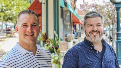 Nick Bruno, Kyle Perloff kick off candidacy for Clinton Town Council primary