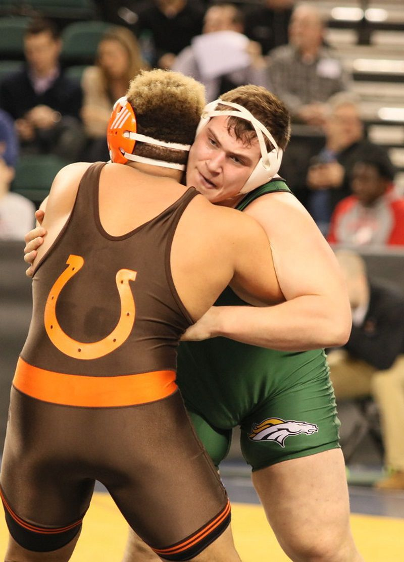 Montville's Fox takes 4th place in state wrestling