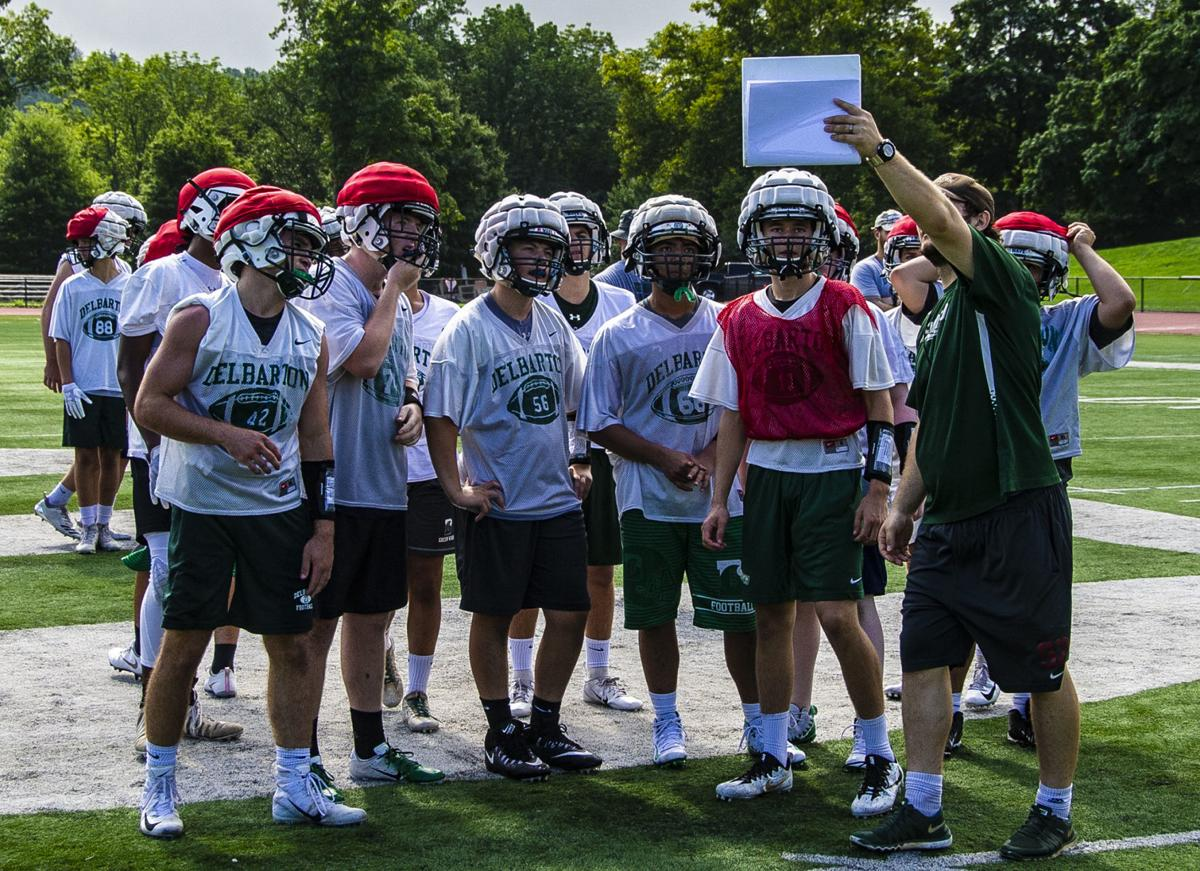 Delbarton Football Opens Training Camp Observer Tribune Sports
