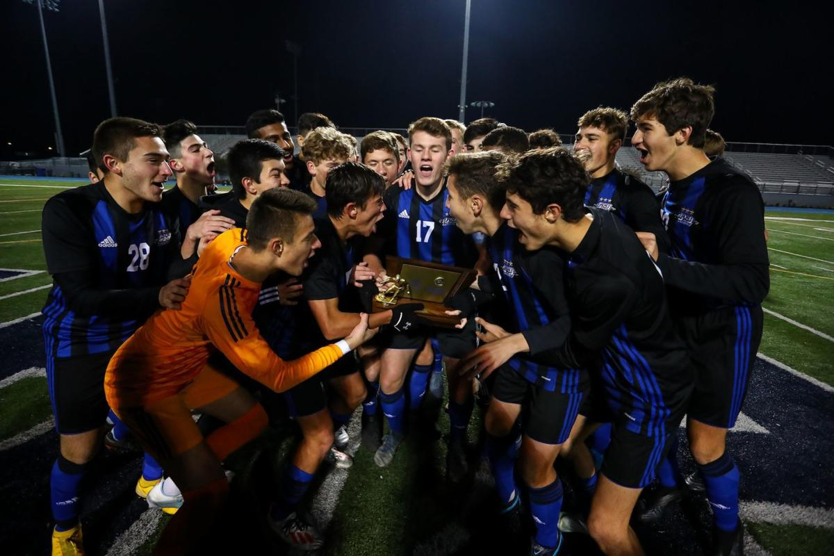 Gill boys soccer state champs